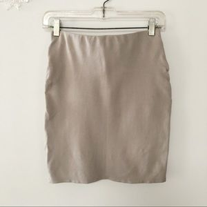 Aritzia Skirts - Aritzia Talula Primrose faux wrap mini skirt